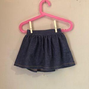 Old Navy Girls Children's Jeans Skirt Size 18-24